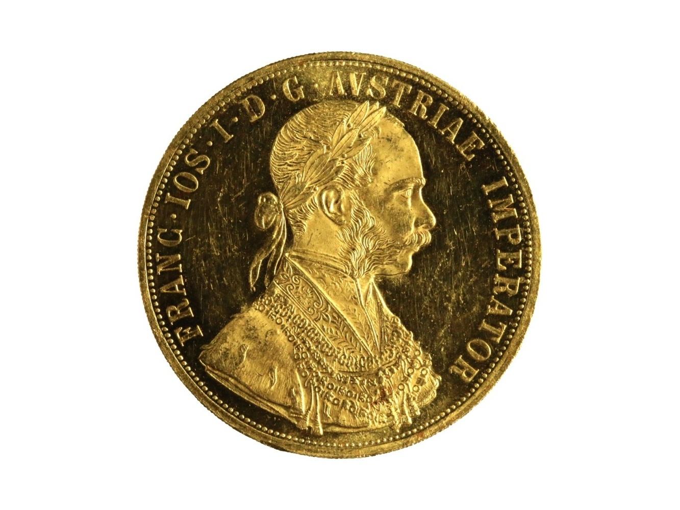František Josef I. 1848-1916 - 4 Dukát 1914, N 117