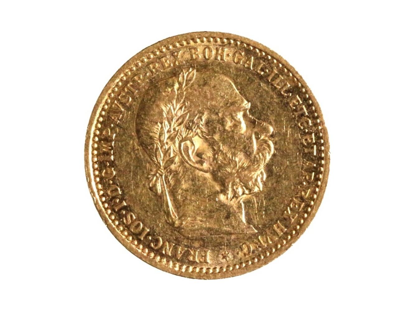 František Josef I. 1848-1916 - 10 Koruna 1896, N 130