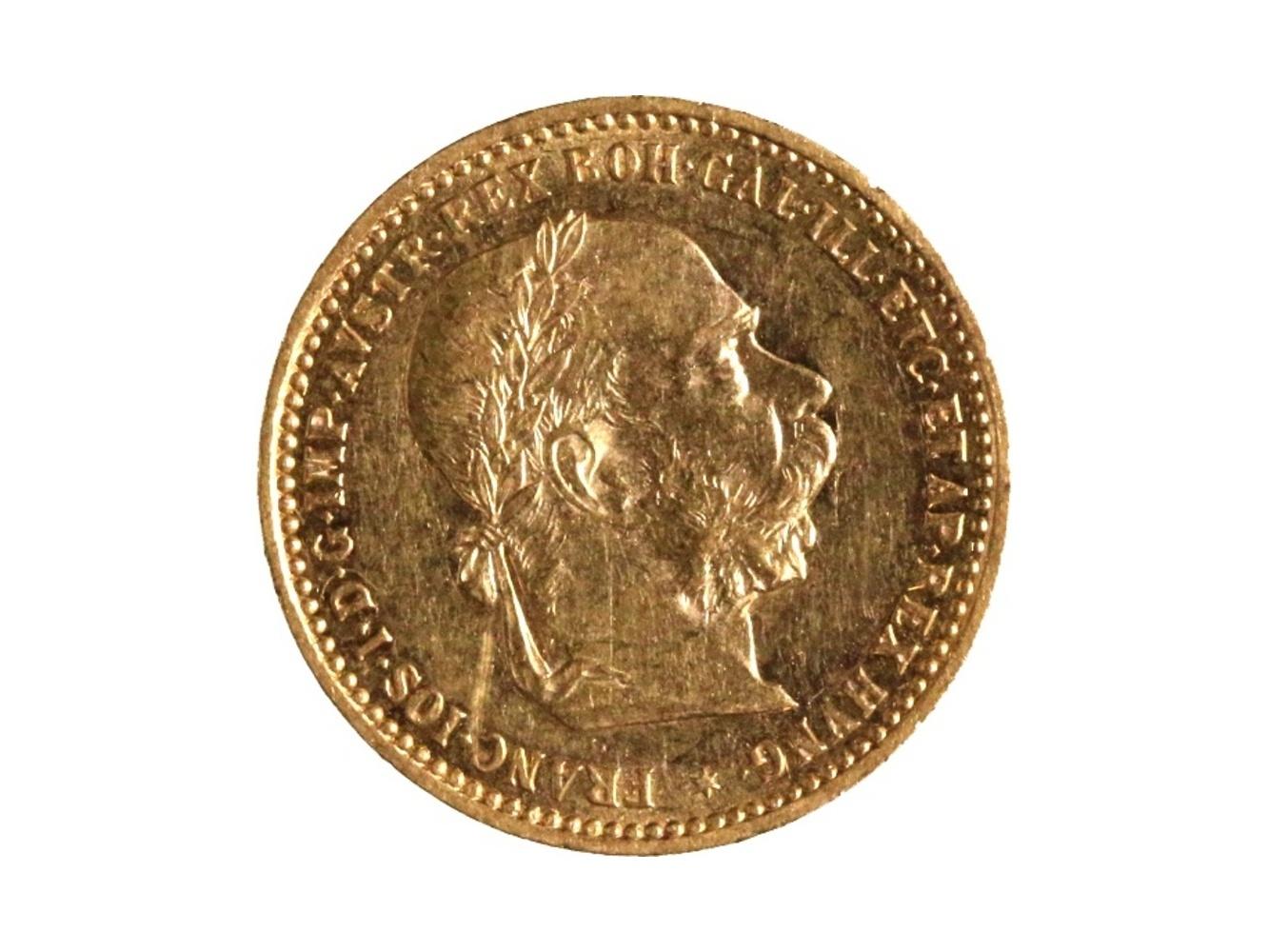 František Josef I. 1848-1916 - 10 Koruna 1897, N 130