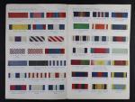 Brožura britské a zahraniční stuhy k vyznamenáním, vydání z r. 1944