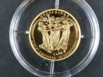 2007, Česká mincovna, zlatá medaile Tři Grácie, Au 0,986, 3,49g, náklad 500 ks, etue