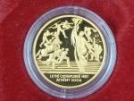 2004, Česká mincovna, zlatá medaile OH Athény, Au 0,999,9, 7,78g, náklad 500 ks, etue, certifikát