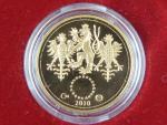 2010, Česká mincovna, zlatá medaile Dukát k narození dítěte 2010, Au 0,986,1, 3,49g, náklad 1000 ks, etue, certifikát