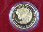 2008, Česká mincovna, zlatá 5ti dukátová medaile, Au 0,999,9, 15,56g, náklad 200 ks, etue, certifikát