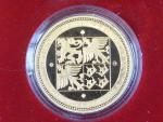2000, Česká mincovna, zlatá medaile 5 Dukát 2000, Au 0,999,9, 15,56g, náklad 300 ks, etue, certifikát
