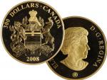 300 Dollar 2008, 60g, Au 583.3/1000, 50mm, náklad 1000 ks. certifikát, etue