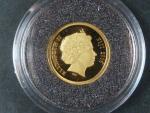 5 Dollars 2006 Atlantida, Au 585/1000, 1,25g, průměr 13,92 mm, certifikát