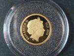 5 Dollars 2006 Bermudský trojúhelník, Au 585/1000, 1,25g, průměr 13,92 mm, certifikát