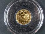 1 Dolar 2010 Mikuláš Koperník, Au 999/1000, 0,5g, průměr 11 mm, certifikát