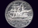 Rakousko 20 EUR 2005 Expeditionsschiff Admiral Tegetthoff