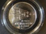 200 Kč 1994, 50. výročí vylodění v Normandii