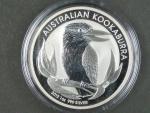 1 Dollars - 1 Oz (31,1050g)  Ag - Kookaburra 2012, kvalita proof, Ag 999/1000, etue
