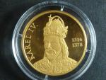 Karel IV - národní numismatická epopej, Au 999, 7,15g, náklad 3000 ks