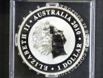 1 Dolar 2010, 1 oz 0.999 Ag, Koala_