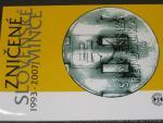 2009 oficielní sada zničených slovenských mincí