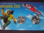 Rakousko 5 EUR 2010 zimní olympiáda, dvoubalení
