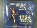 2014 sada Mezinárodný maratón mieru Košice