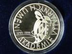 200 Kč 1999, Akademie VU, certifikát, bezvadná kvalita