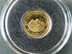 5 Dollars 2011 kompletní sada 7ks mincí Divy světa, Au 0,585, 0,5g, náklad 5000 ks, průměr 11 mm, KM 188-194