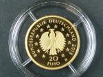 Německo, 20 Euro 2015 G - Lípa,  Au 0,999, 3,89 g, náklad 200.000 ks, průměr 17,5 mm, certifikát