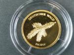 Německo, 20 Euro 2012 D - Smrk,  Au 0,999, 3,89 g, náklad 200.000 ks, průměr 17,5 mm, certifikát, KM 307