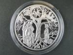 pamětní medaile 2013 Dekameron, Ag 999, 31,1 g, hrana hladká s opisem, náklad 500ks, etue, certifikát