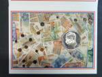250 Frank 1994, papírový obal, bezvadná kvalita proof