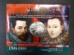 500 Francs 1999, Ag 925/1000, 22.85g,  papírový obal, bezvadná kvalita