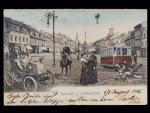 Jaroměř, okr. Náchod, prošlá 1905