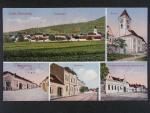 Dolní Dunajovice okr. Břeclav, prošlá 1925