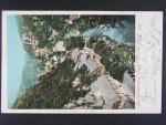 Hřensko okr. Děčín, prošlá 1900, odstraněná známka