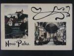 Nová Paka okr. Jičín, prošlá 1922