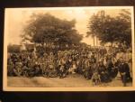 Bohutice u Mor. Krumlova, čb. fotopohlednice Pouť 11.září 1932, neprošlá
