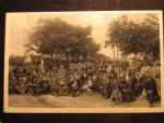 Bohutice u Mor. Krumlova, čb. fotopohlednice Poutˇ 11.září 1932, neprošlá