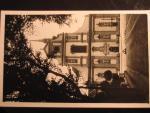 Brno, čb. fotopohlednice, chrám sv. Tomáše, neprošlá