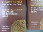 Halačka Ivo, Vládní mince zemí koruny české 1526 - 1856 I. + II.díl, 946 stran A4 včetně vyobrazení, vydání 2011